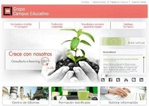 Diseño web para el Campus Educativo de cyl
