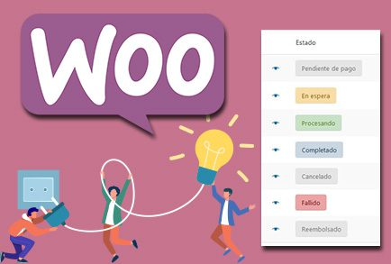 Autocompletar estado de pedidos en WooCommerce