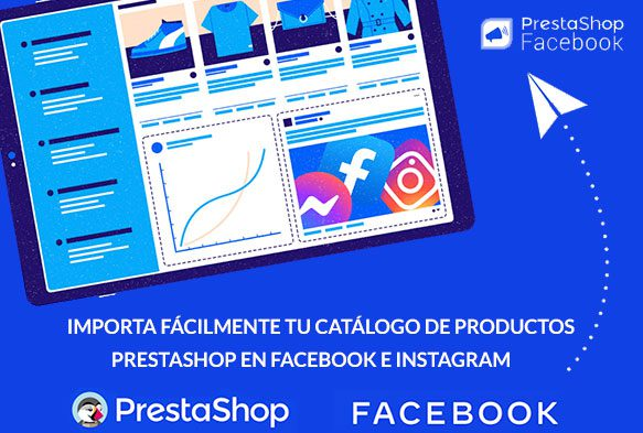 Importar y sincronizar productos Prestashop con Facebook e Instagram